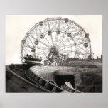 Coney Island Roller Coaster-1826612.s.jpg Poster