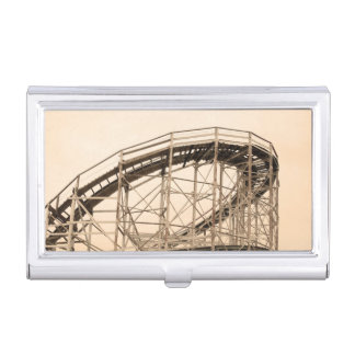 Coney Island Roller Coaster Business Card Case