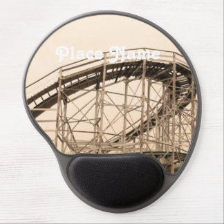Coney Island Roller Coaster Gel Mouse Mats