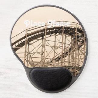 Coney Island Roller Coaster Gel Mouse Mats