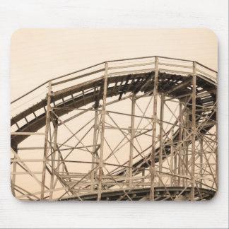 Coney Island Roller Coaster Mousepad