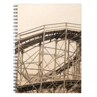 Coney Island Roller Coaster Notebook