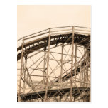 Coney Island Roller Coaster Postcard