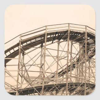 Coney Island Roller Coaster Stickers