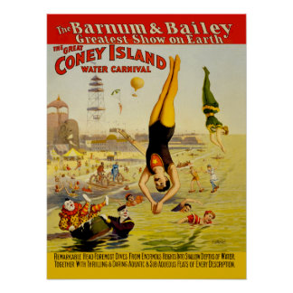 Coney Island Sideshow Poster