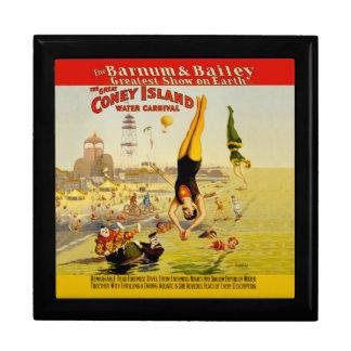 Coney Island Sideshow Poster Gift Box