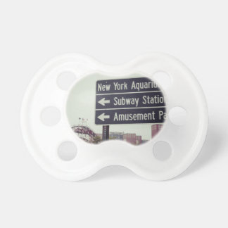 Coney Island Sign Pacifier