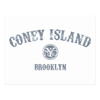 Coney Island Tarjeta Postal