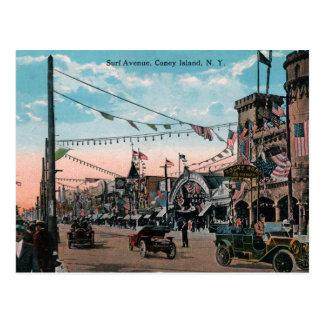 Coney Island Tarjetas Postales