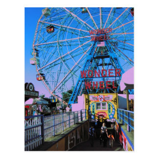 Coney Island - The Wonder Wheel Post Cards