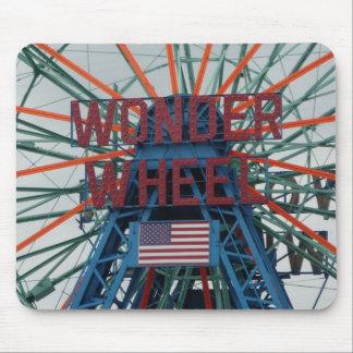 Coney Island Wonder Wheel Mouse Pads