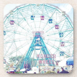 Coney Island Wonderwheel Ferris Wheel in Summer Coaster