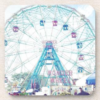 Coney Island Wonderwheel Ferris Wheel in Summer Coasters