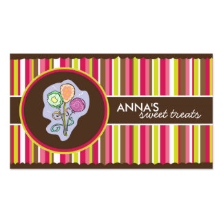 Confection Business Cards