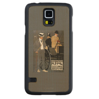 Confection Kehl Gentlemen Clothing Carved Maple Galaxy S5 Case