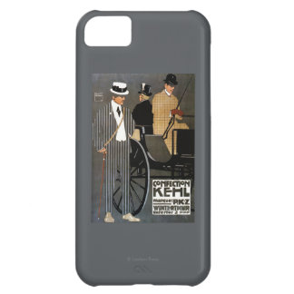 Confection Kehl Gentlemen Clothing Case For iPhone 5C