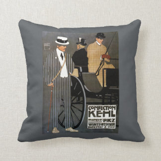 Confection Kehl Gentlemen Clothing Throw Pillow