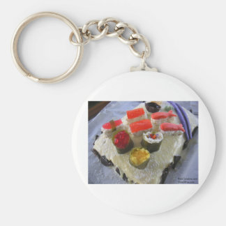 Confectionary Dessert Sushi Gifts Tees Etc Keychain