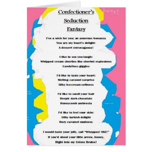 Confectioner's Seduction Fantasy card