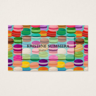 Confectionery Bakeshop Pastry Shop Business Card