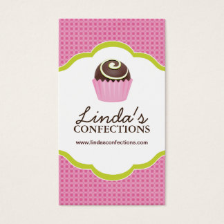 Confections Business Card Template