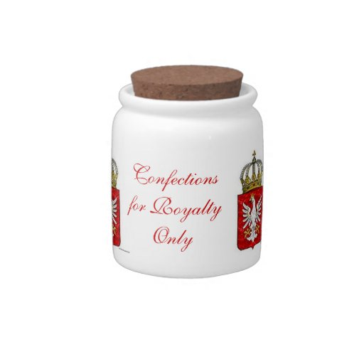 Confections for Royalty Only Candy Dish