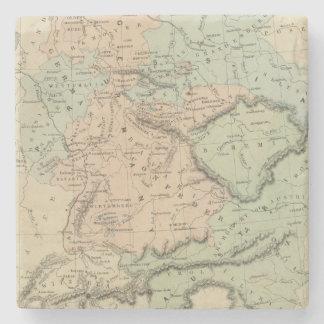 Confederación germánica posavasos de piedra