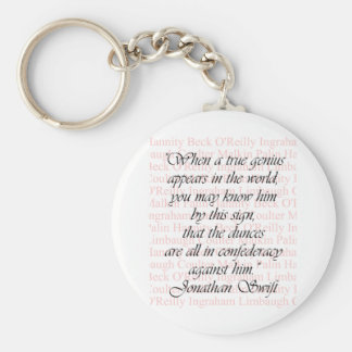 Confederacy of Dunces Basic Round Button Keychain