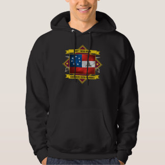Confederate 1st National -Don't Tread On Me Hoodie