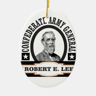 confederate army general lee ceramic ornament