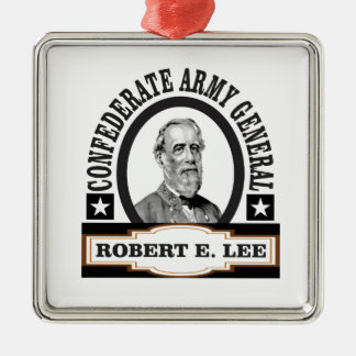 confederate army general lee metal ornament