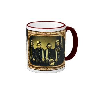 Confederate Brothers Ringer Mug