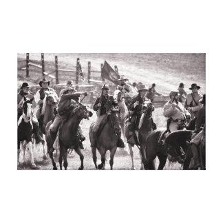 Confederate Cavalry - US Civil War Canvas Print