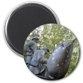 Confederate Civil War Monument ~ Shiloh, TN 2 Inch Round Magnet