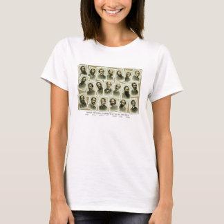 Confederate Commanders of The Civil War T-Shirt