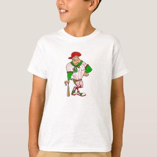 Confederate cowboy baseball red green T-Shirt