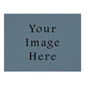 Confederate Dark Blue Color Trend Blank Template Photo Art