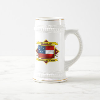 Confederate First National Beer Stein