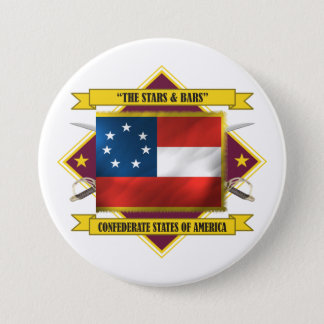 Confederate First National Button