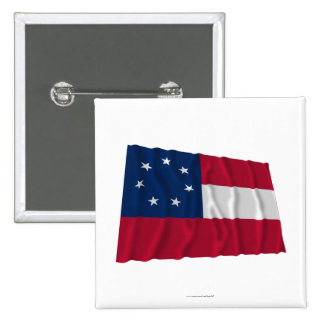 Confederate First National Flag, 7 Stars Pins