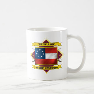 Confederate First National Classic White Coffee Mug