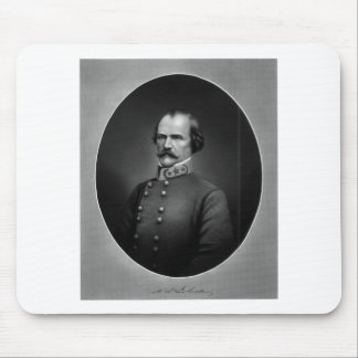 Confederate General Albert Sidney Johnston Mouse Pad