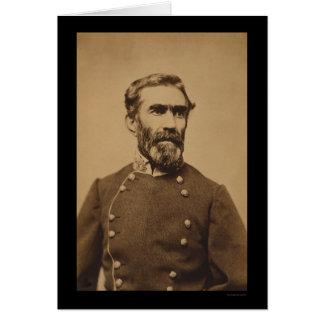 Confederate General Braxton Bragg 1862 Card