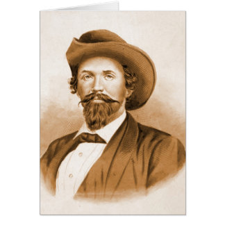Confederate General John Hunt Morgan 1870 Card