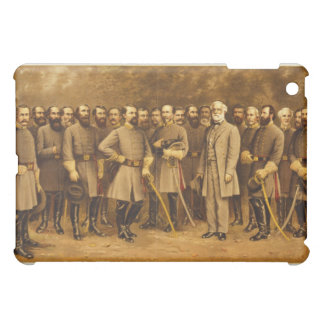 Confederate General Robert E. Lee and his Generals Case For The iPad Mini