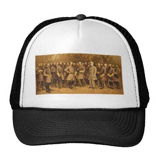 Confederate General Robert E. Lee and his Generals Hat