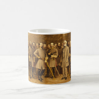 Confederate General Robert E. Lee and his Generals Coffee Mug