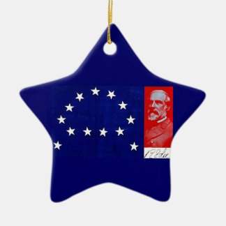 Confederate General Robert E. Lee Ceramic Ornament