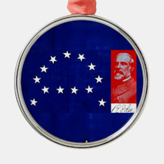 Confederate General Robert E. Lee Metal Ornament