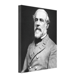 Confederate General Robert E. Lee Portrait Canvas Print